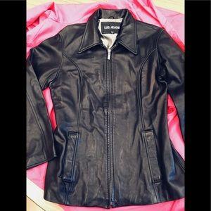 Cute Black Leather Jacket